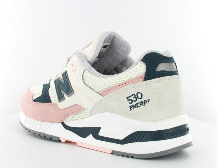 new balance 530 white rose