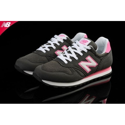 new balance femme 373 classic cuir grise rose