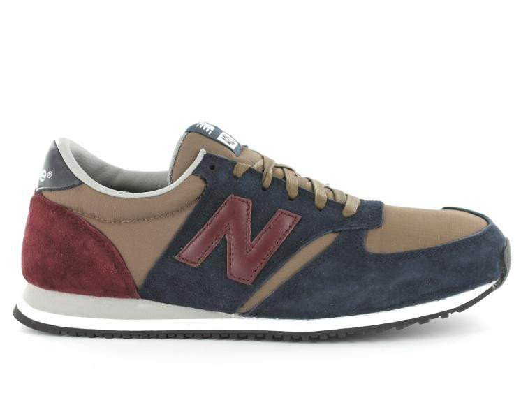 new balance u420 bleu marron bordeaux