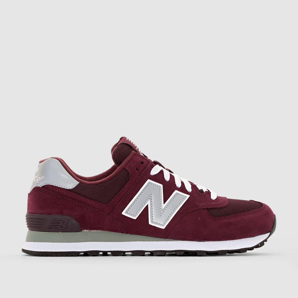 new balance ml574 bordeaux femme
