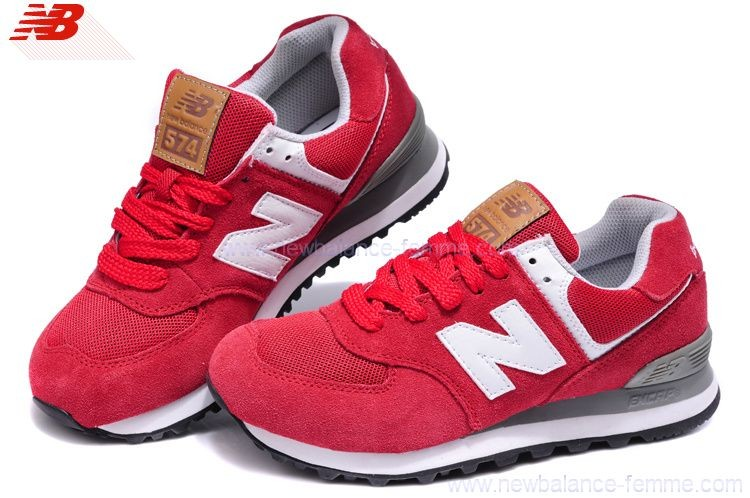 new balance rouge et gris