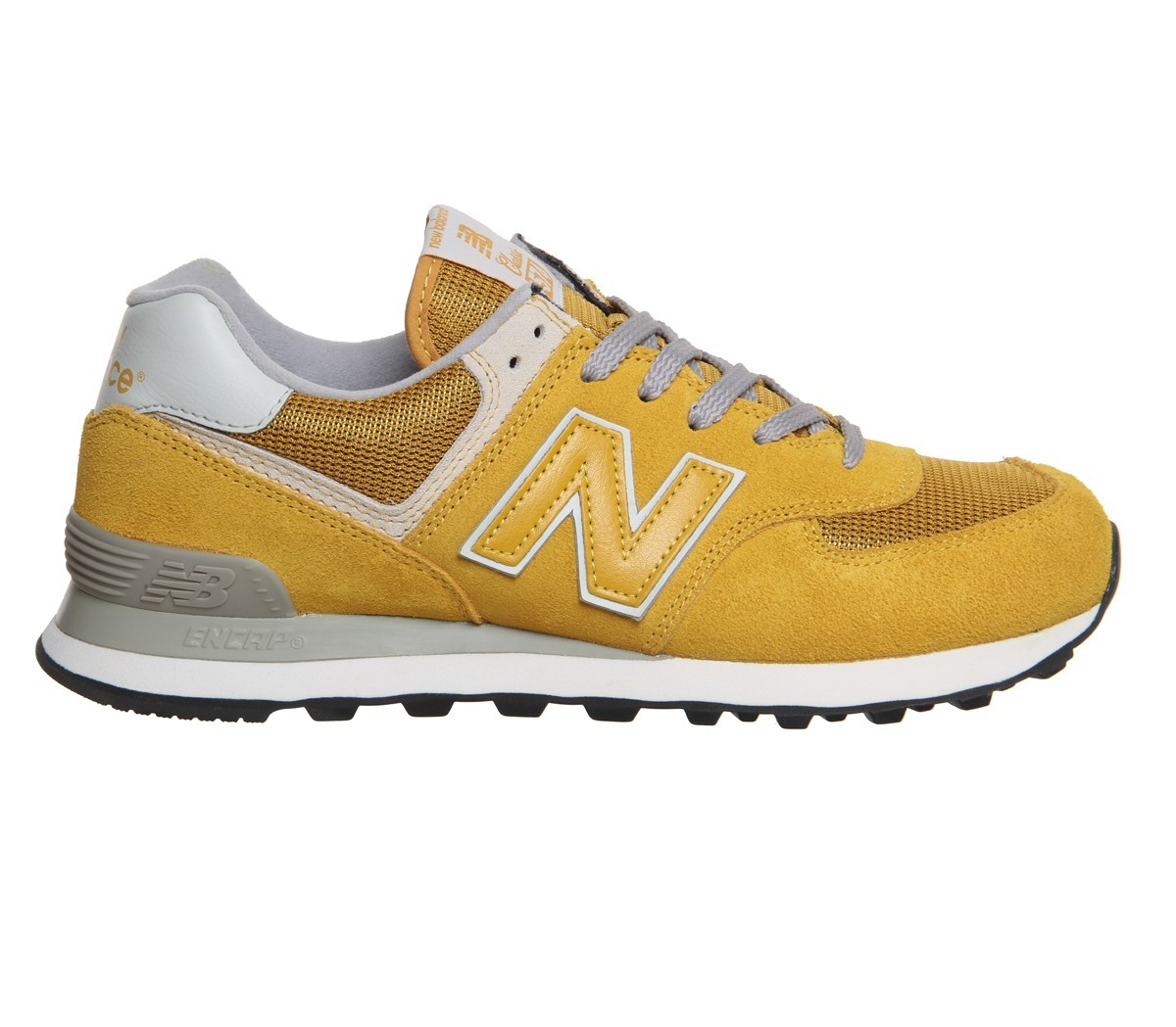 new balance homme jaune moutarde