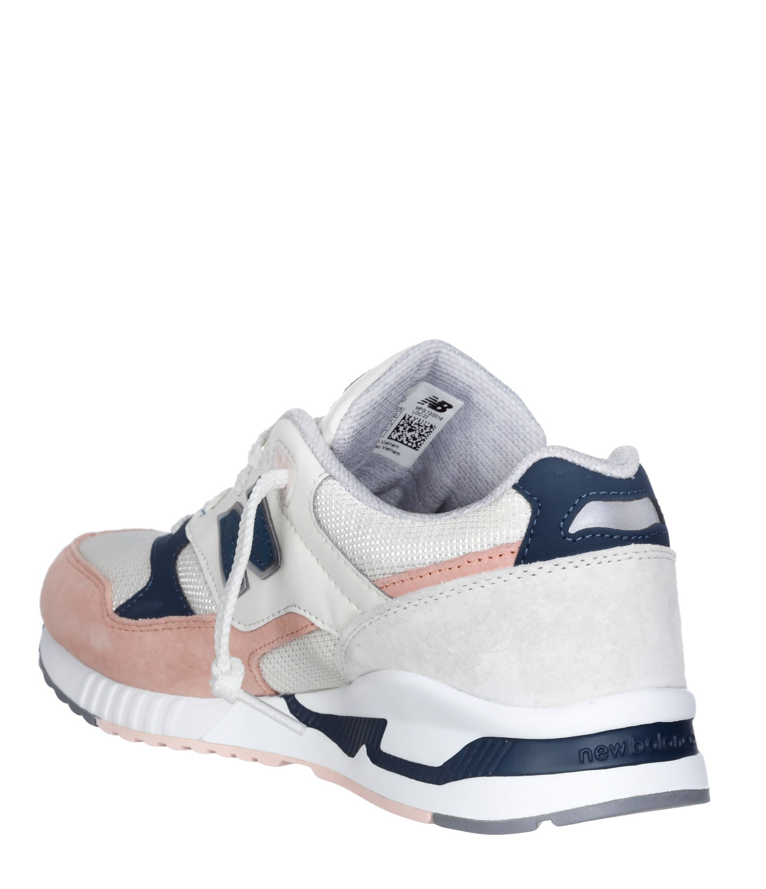 new balance beige et rose