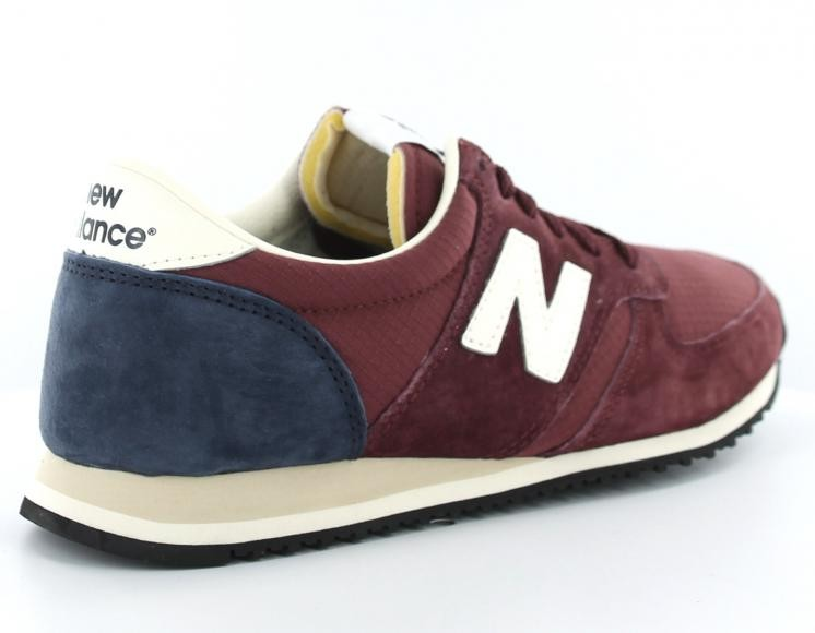 new balance bleu bordeau