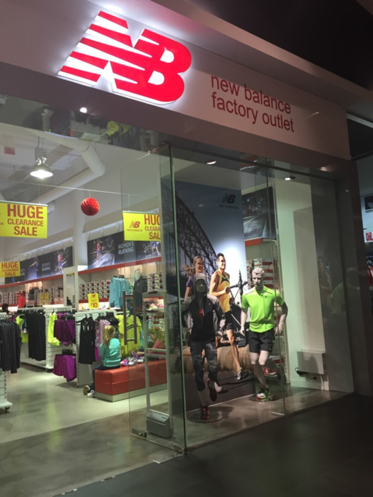 New Balance Stores. The difference is in the fit. Each of our stores have staff with professional experience to find your perfect fit. Our stores carry everything from footwear in a wide range of sizes and widths, to a versatile offering of apparel and accessories.