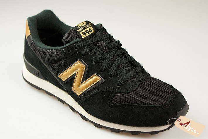 new balance noir et or