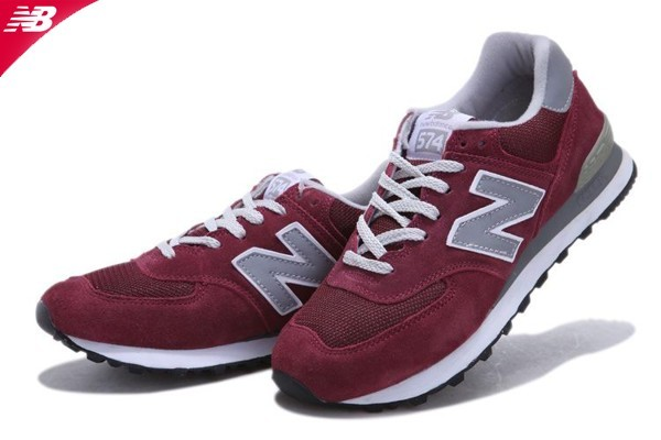 new balance rouge bordeaux 574