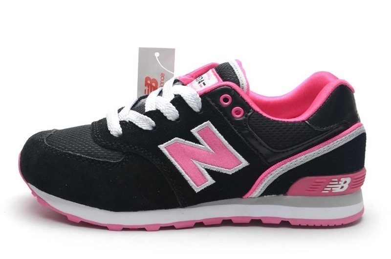 new balance fille grise et rose