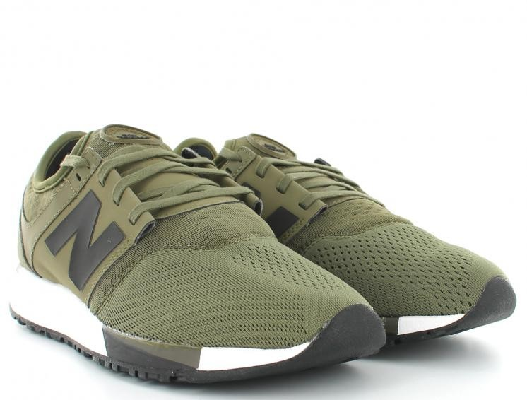 baskets new balance kaki