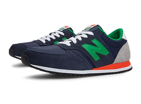 new balance u420 homme bleu orange