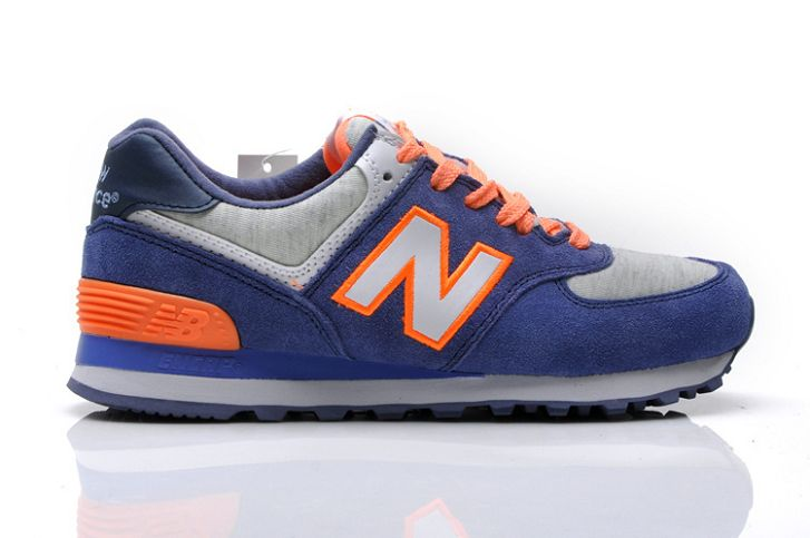 new balance bleu orange