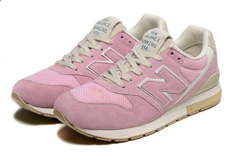 new balance 996 gris et rose