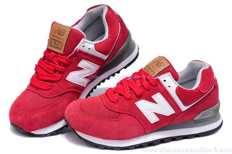 new balance 574 rouge pas cher
