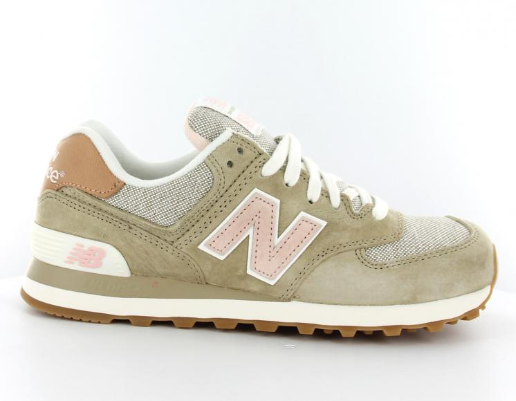new balance 574 femme taupe