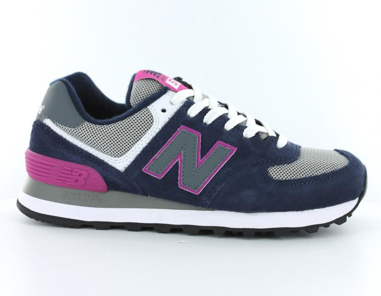 new balance rose bleu grise