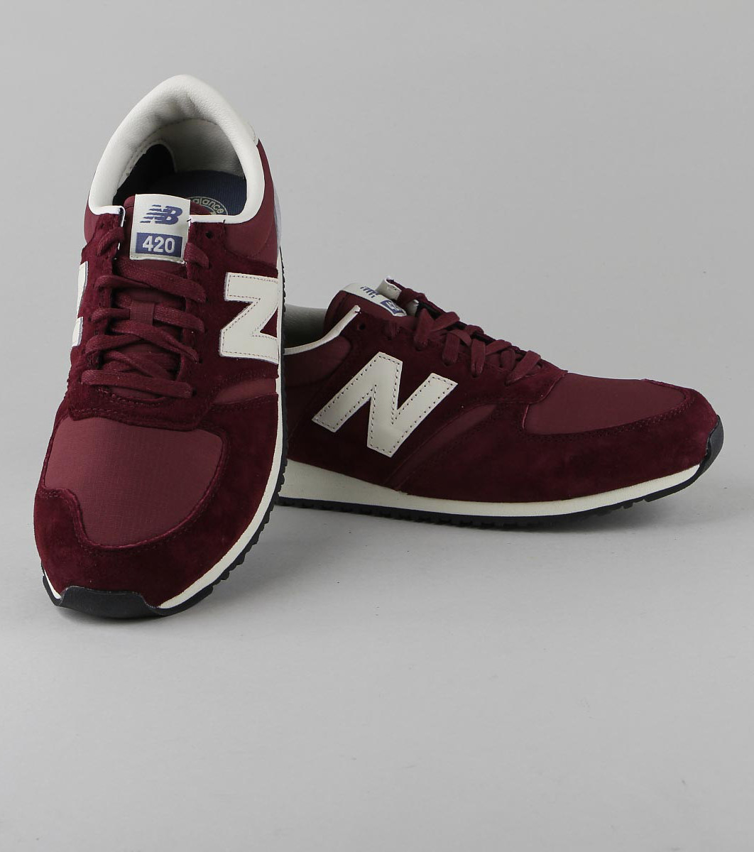 new balance 420 bordeaux rose