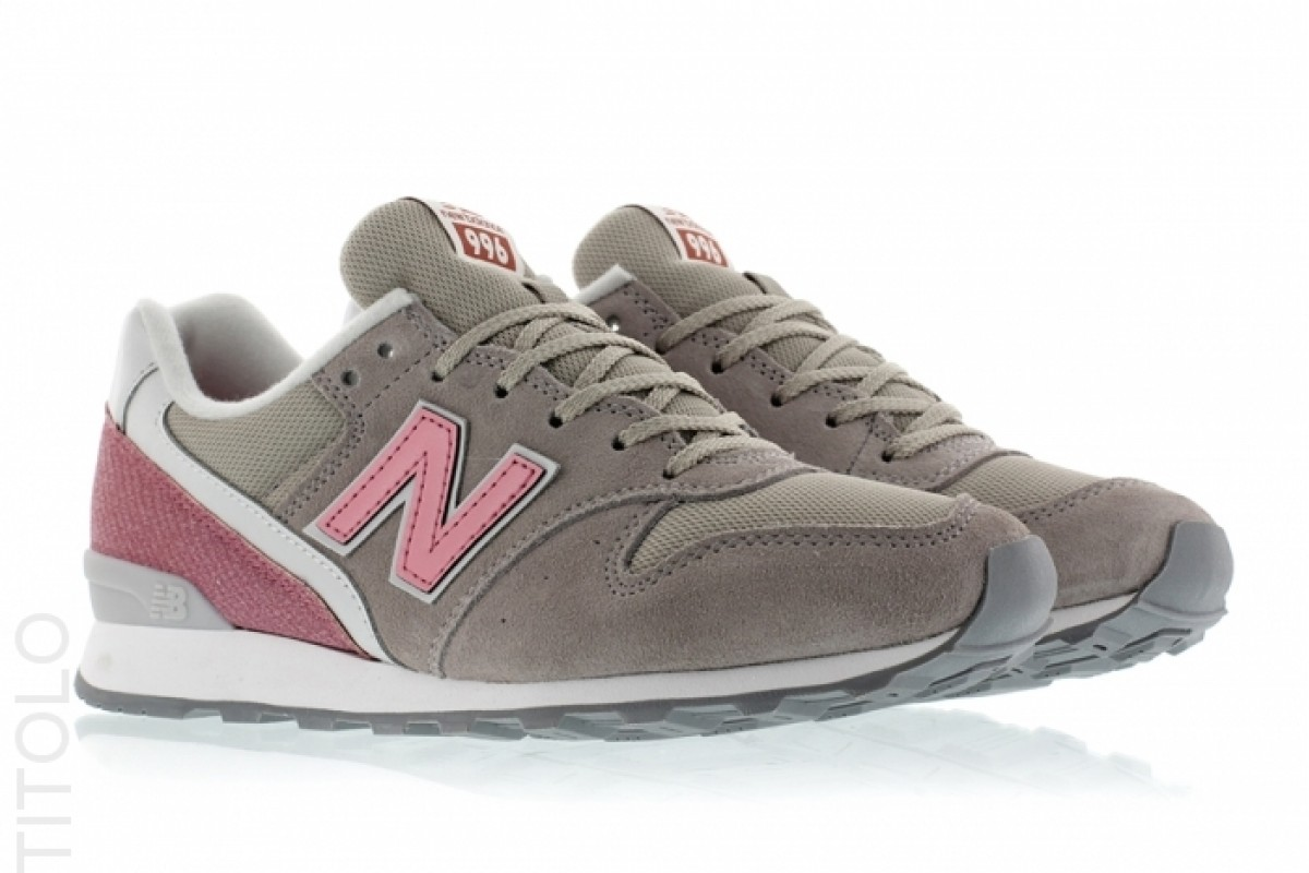 new balance rose et grise