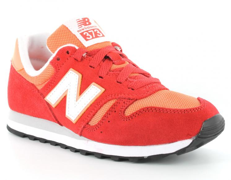 new balance femme orange et verte