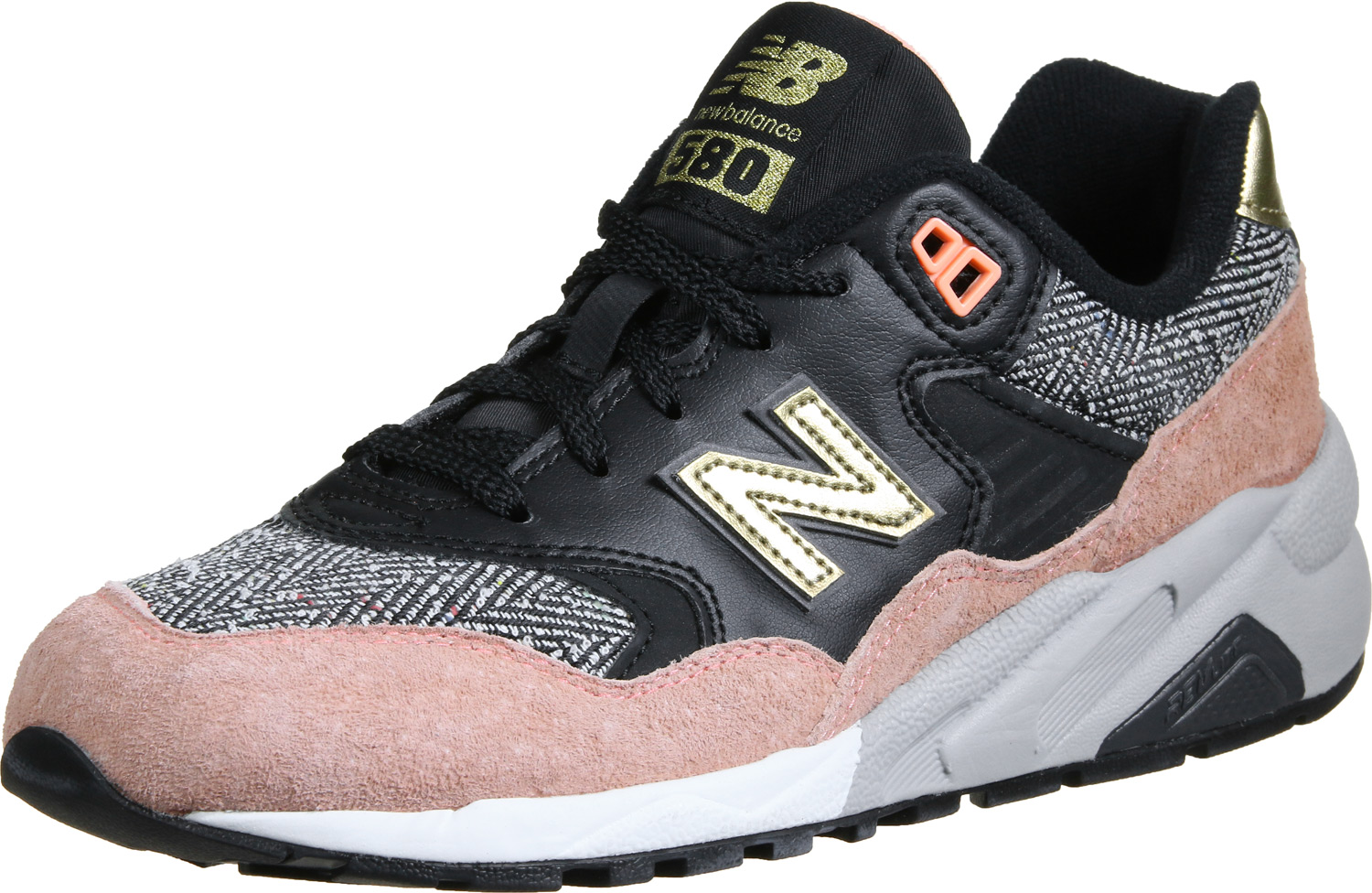 ab2c7f5890c4 new balance femme stylefile, 16%NewSoonYouth New Balance WRT580 W  chaussures rose noir