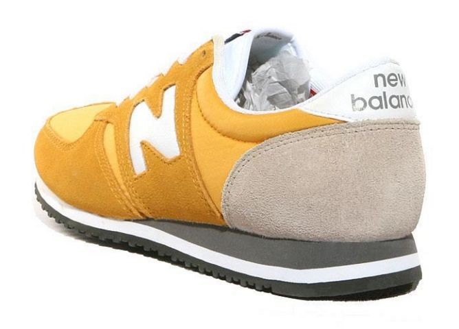 new balance jaune moutarde