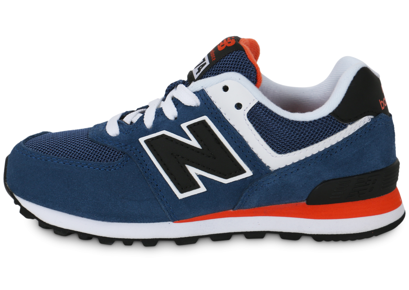 new balance noir lacet orange