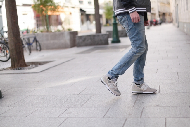 new balance homme look
