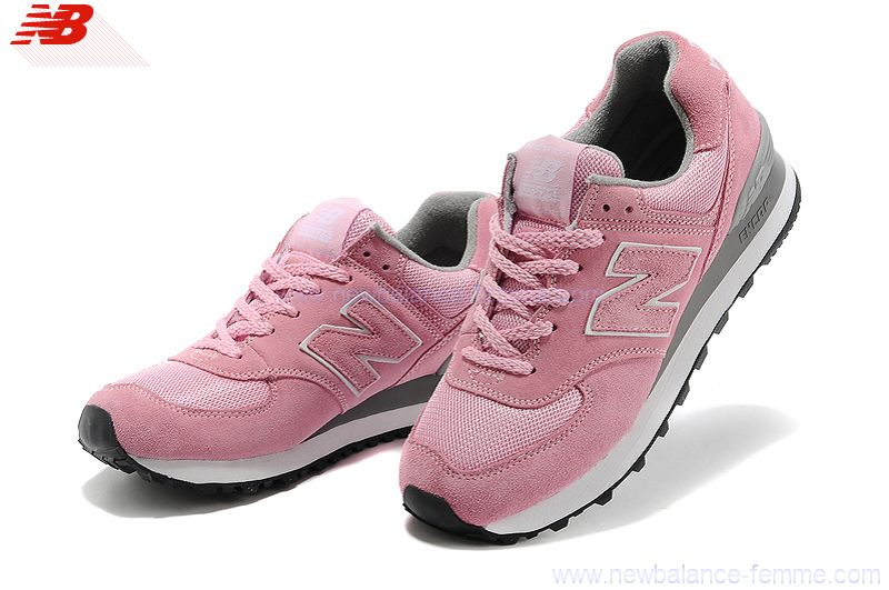 Chaussures New Balance 574 roses Casual OAzGiiHFtJ