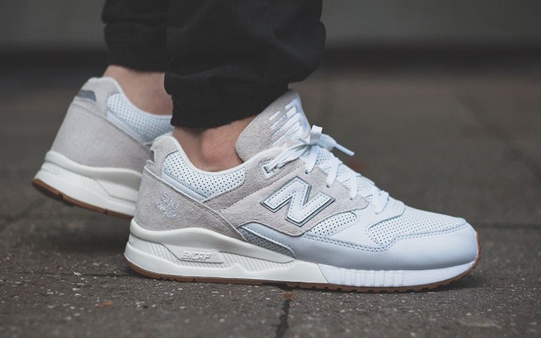 new balance blanche solde